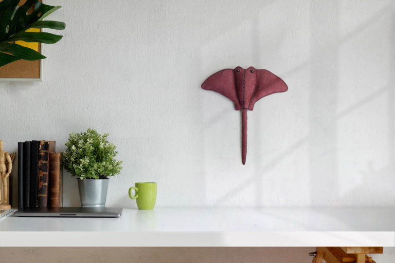 Sting ray wall hanging