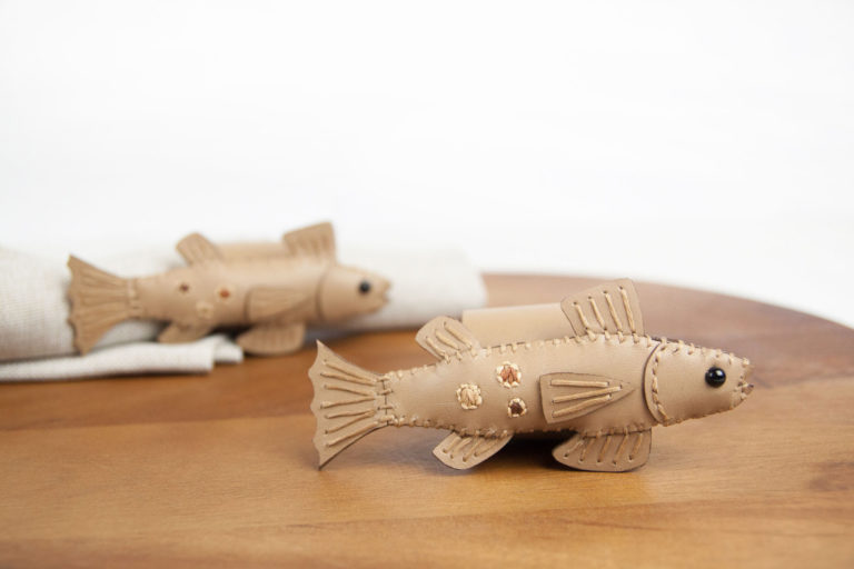 Napkin rings brown trout